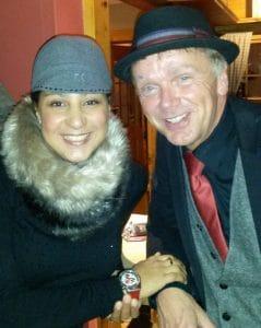 Michaela de Luxe mit Reinhold Meiners So.4.1.2015 Hotel Niedersachsen Höxter
